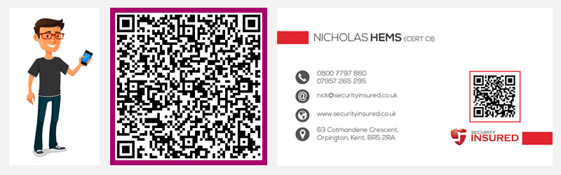 iHomepage Design Studio - business card with qr code