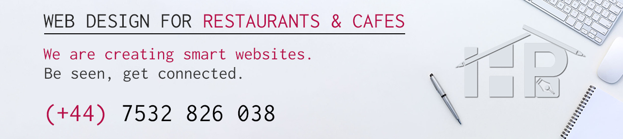 web design for Restaurants & Cafes