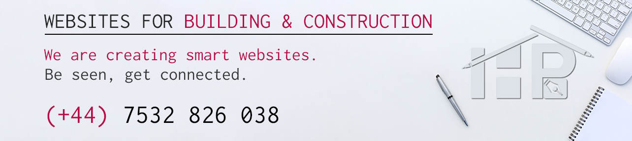 Websites for building & construction