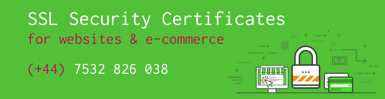 SSL security certificates for websites & e-commerce